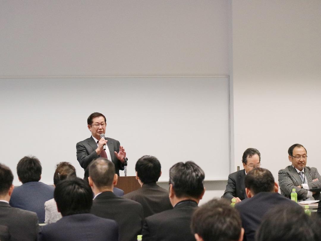 開会宣言 北海道地区