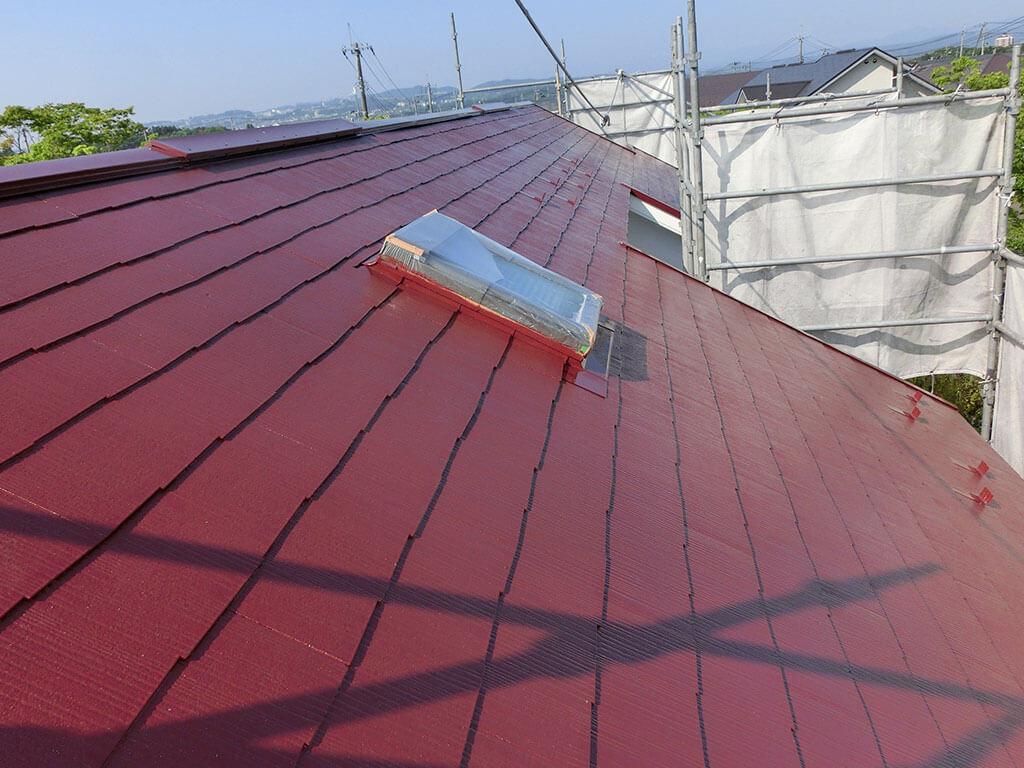 仙台市泉区 屋根塗装工事