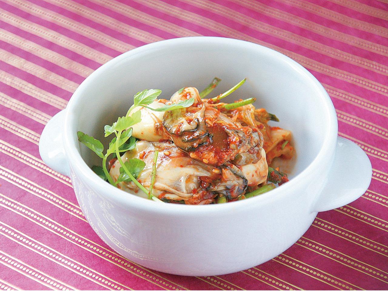 ワンランク上のキムチ 牡蠣キムチ
