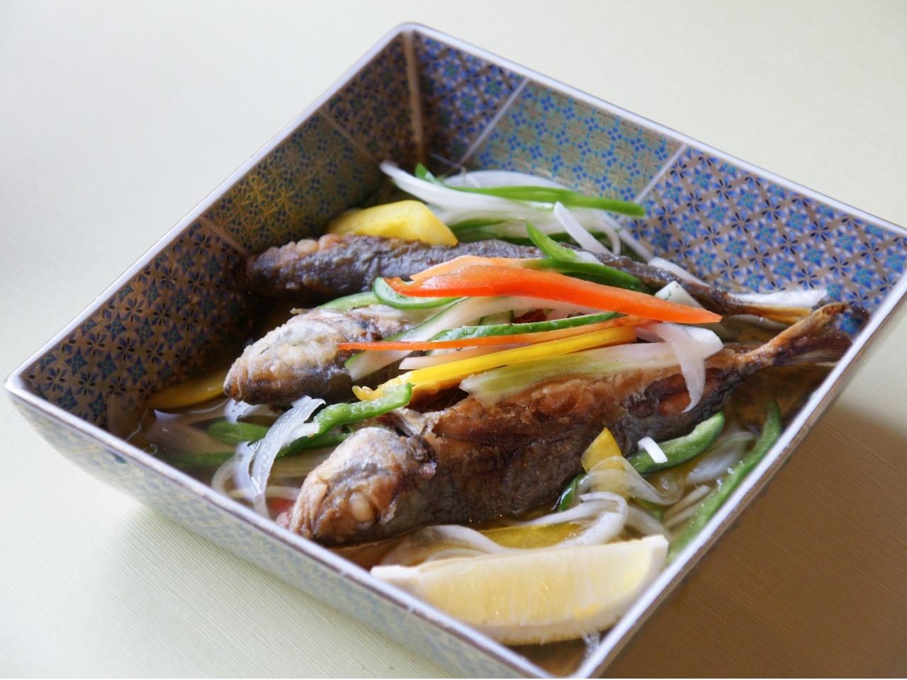 韓流 野菜たっぷり南蛮漬け